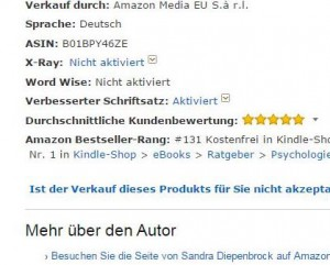 Nr1 Amazon Bestseller Rang