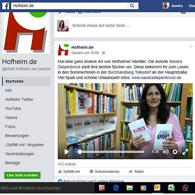 Video bei Hofheim.de